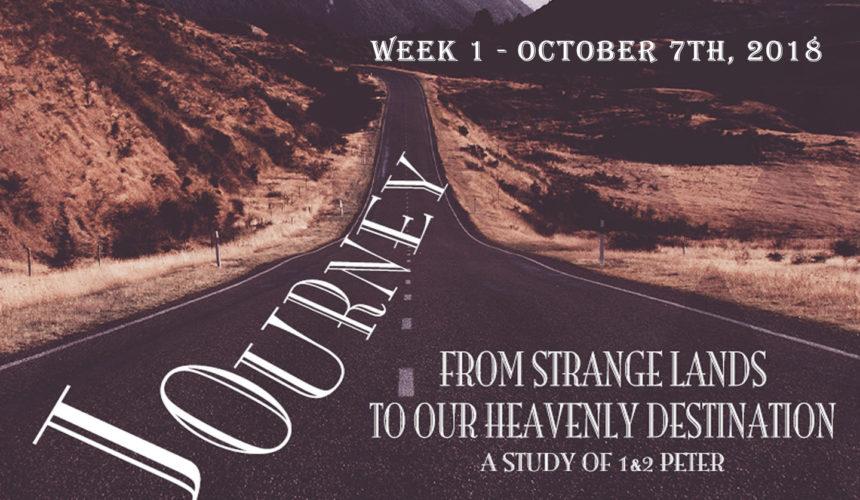 Journey: Week 1